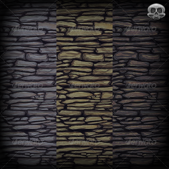 3DOcean Slate Wall Texture Tile 2943723