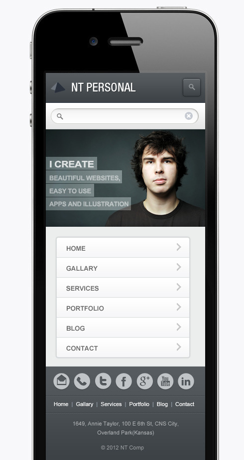 WpMobb - Wordpress Mobile Template