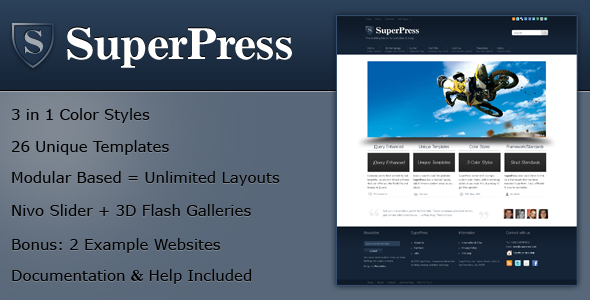 SuperPress Theme, Business+Portfolio+Magazine HTML - SuperPress HTML template