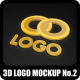 3D Logo Mock-Up No.2 - GraphicRiver Item for Sale