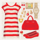 Fashion set with a tunic - GraphicRiver Item for Sale