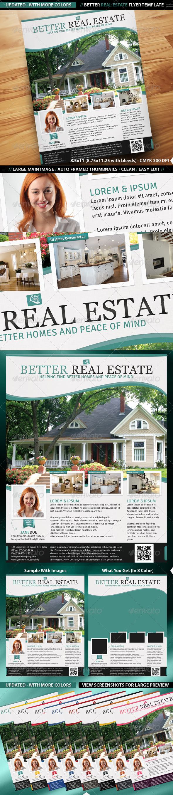 Better Real Estate Flyer Template - Corporate Flyers