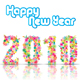 New Year 2010 With Floral Design - GraphicRiver Item for Sale