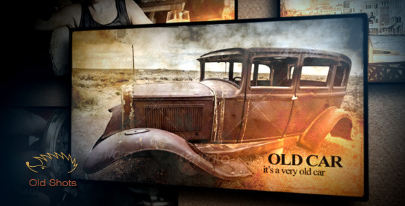 After Effects Project - VideoHive Old Shots 2948487