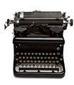 Old Style Typewriter Isolated on White - PhotoDune Item for Sale