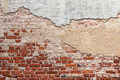 Grunge Plastered Brick Wall - PhotoDune Item for Sale