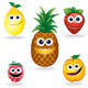 Funny Fruits A - GraphicRiver Item for Sale