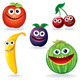 Funny Fruits B - GraphicRiver Item for Sale