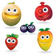 Funny Fruits D - GraphicRiver Item for Sale