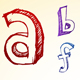 Alphabet Sketch  - GraphicRiver Item for Sale