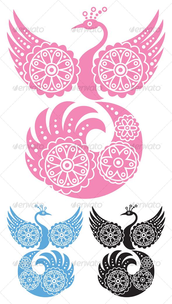 GraphicRiver Decorative Bird 83503