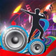 Dance Party Vector Template Design_4 - GraphicRiver Item for Sale