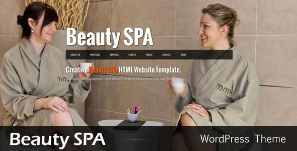 Beauty SPA - Ajaxified WordPress  CMS Theme - Health &amp; Beauty Retail