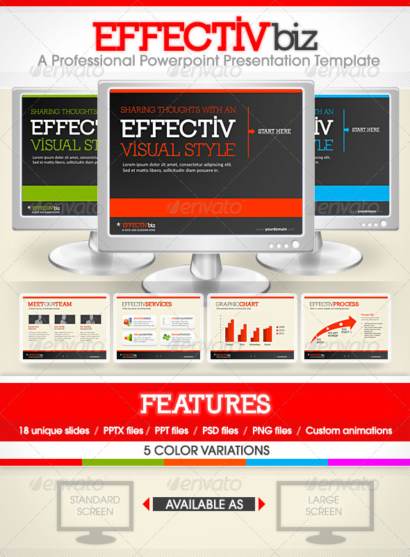 EFFECTIVE biz Professional PowerPoint Presentation Templates