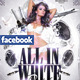 All In White Party Flyer + Facebook Timeline - GraphicRiver Item for Sale