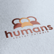 Humans Logo - GraphicRiver Item for Sale