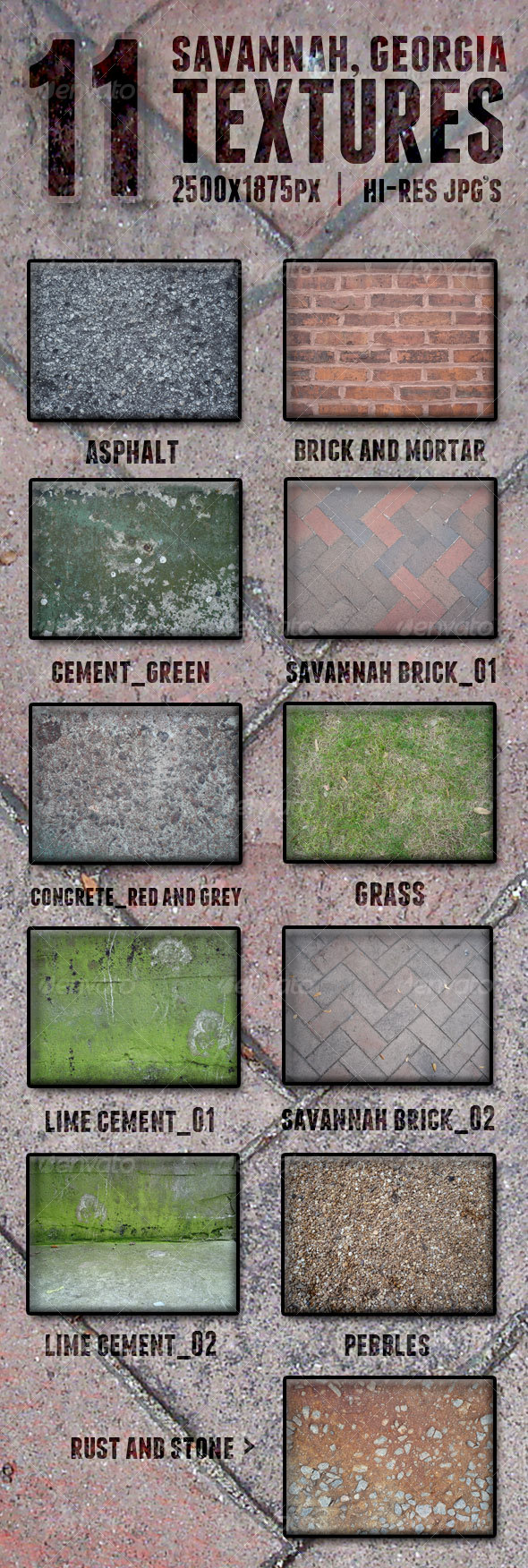 Savannah Textures - Miscellaneous Textures