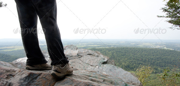 At The Lookout - Stock Photo - Images