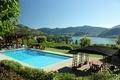 A View of a Aqua Pool, Lake and Vineyard - PhotoDune Item for Sale