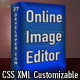Online Image Editor - ActiveDen Item for Sale