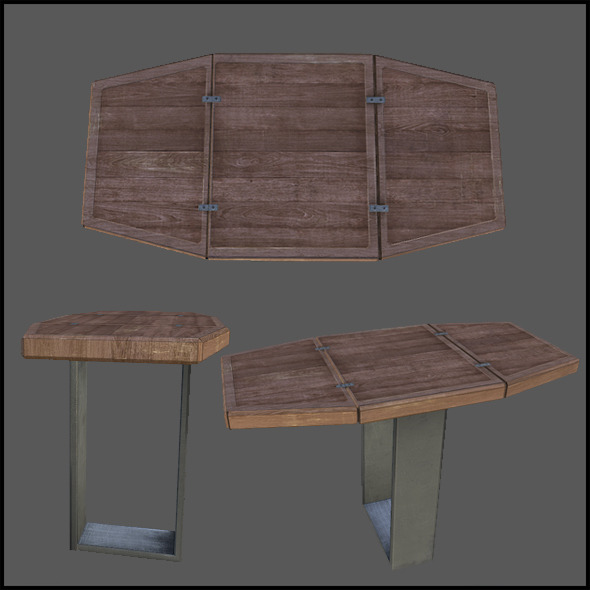 Adjustable Table - 3DOcean Item for Sale