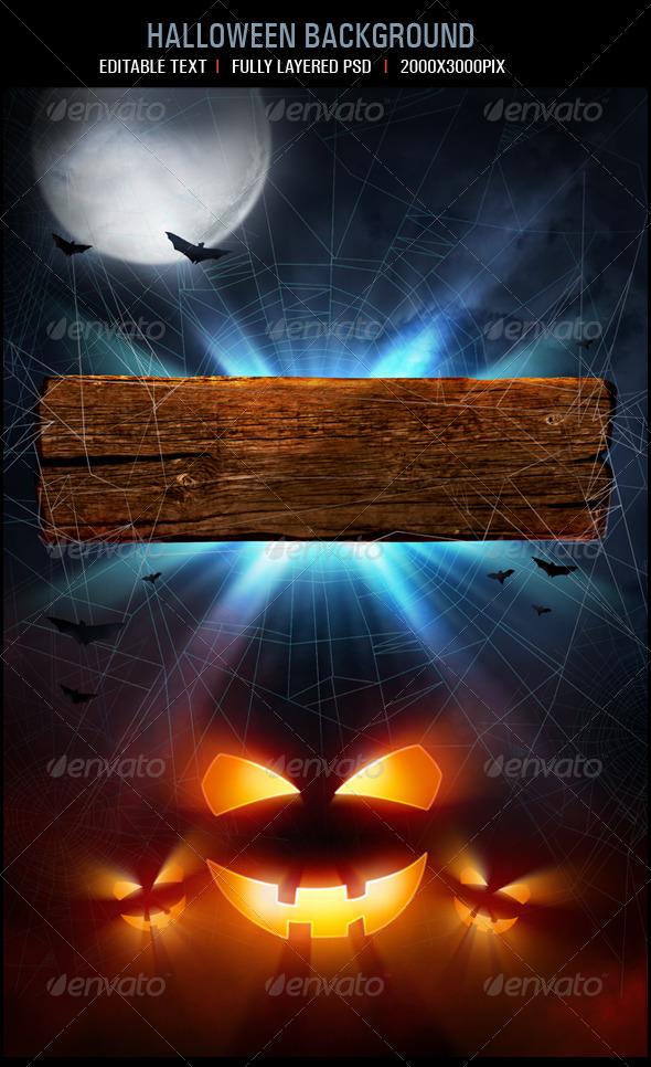 GraphicRiver Halloween Background 2945240
