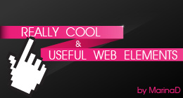 Really Cool & Useful Web Elements