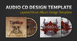 Audio CD Template Design