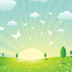 Spring Landscape - GraphicRiver Item for Sale