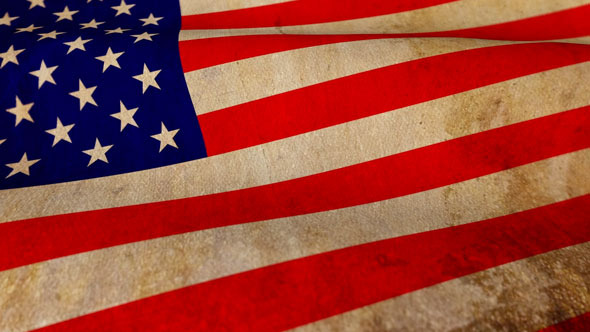 VideoHive US Flag Motion Loop 2964290