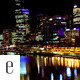 City River Lights Timelapse - VideoHive Item for Sale