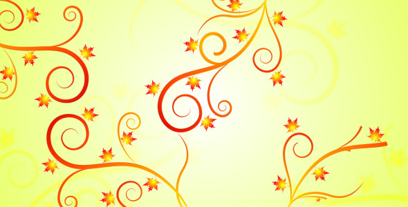 VideoHive Fall Filigree 2965447