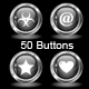 Metal buttons - ActiveDen Item for Sale