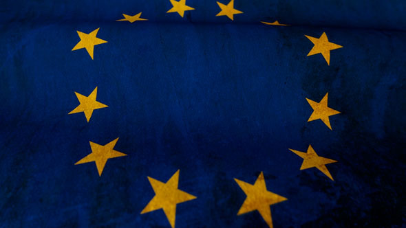 VideoHive Europe Flag Motion Loop 2966667