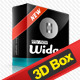 Smart 3D Box Template - GraphicRiver Item for Sale