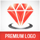 Red Diamond Luxury Jewelry Logo Template - GraphicRiver Item for Sale