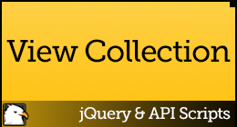 jQuery &amp; API Scripts
