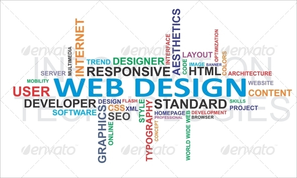 PhotoDune Word cloud web design 2968708