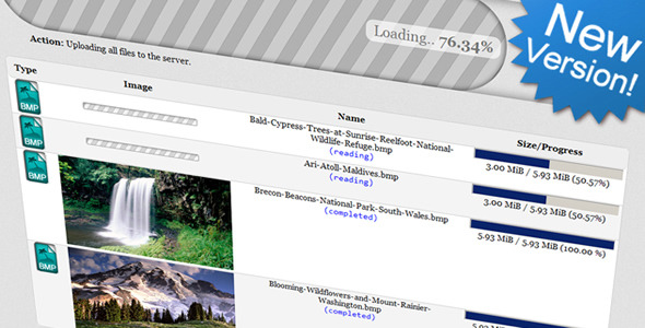 The AwsmUploader: Unlimited Uploads w/o Flash! - CodeCanyon Item for Sale