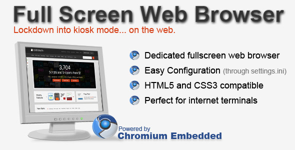 Full Screen Web Browser - CodeCanyon Item for Sale
