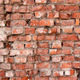 Illuminated by the sun the old brick wall background - PhotoDune Item for Sale