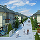Housing Complex Full Scene Render Ready - 3DOcean Item for Sale