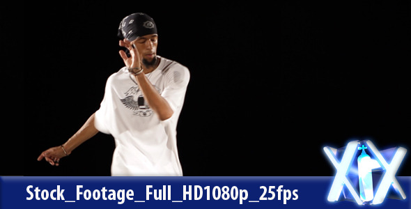 VideoHive Hip Hop Dancer 2975334