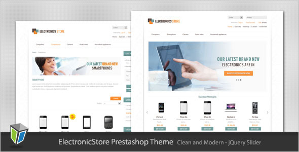 Electronics Store - Clean Prestashop Theme