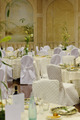 Wedding tables for indoor dinner - PhotoDune Item for Sale