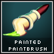 Painted Paintbrush Illustration - GraphicRiver Item for Sale