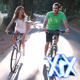 Couple Riding Bicycles - VideoHive Item for Sale