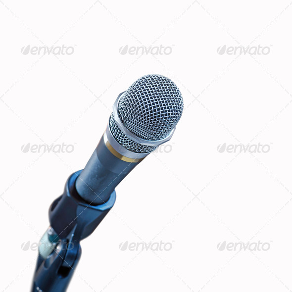Microphone - Stock Photo - Images