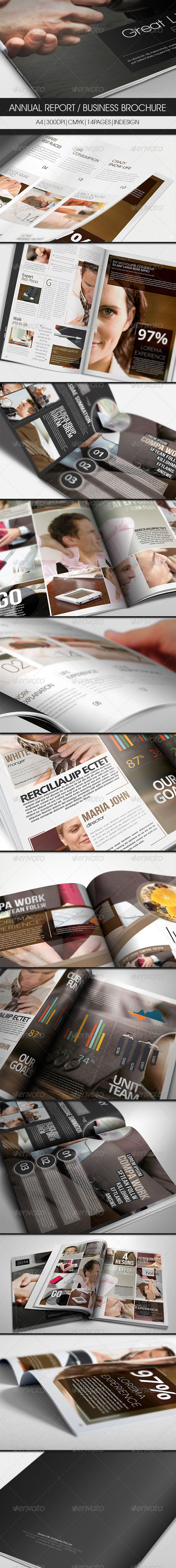GraphicRiver Annual Report Business Brochure 2979251