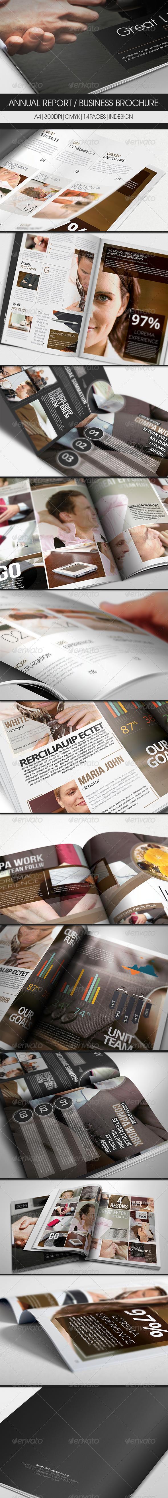 GraphicRiver Annual Report Business Brochure 2979251